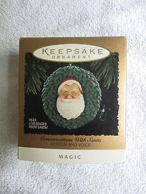 "Hallmark /""Conversations With Santa/"" Magic Ornament Dated 1994"