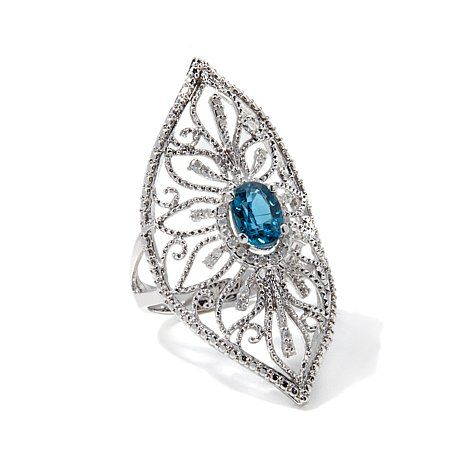 Hsn Jewelry Boxes Gorgeous Rarities Fine Jewelry With Carol Brodie 115Ct Teal Kyanite And Inspiration Design