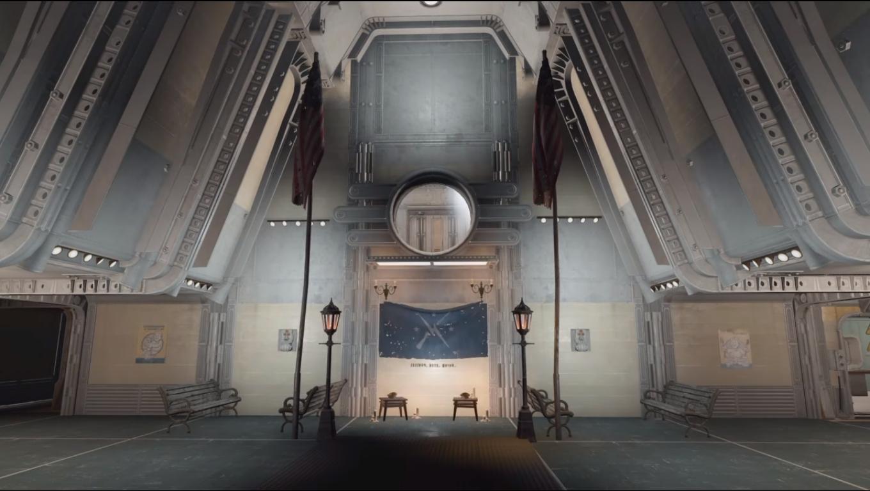 Fallout 4 Settlement Vault 88 Atrium Fallout Fallout Fallout