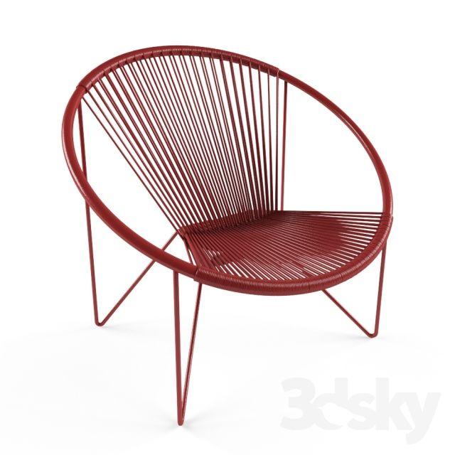 3d Models: Chair   String Chair