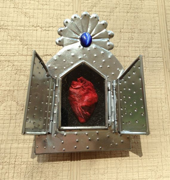 Last One Altar Style Wall Display With Real Dry Preserved Turkey