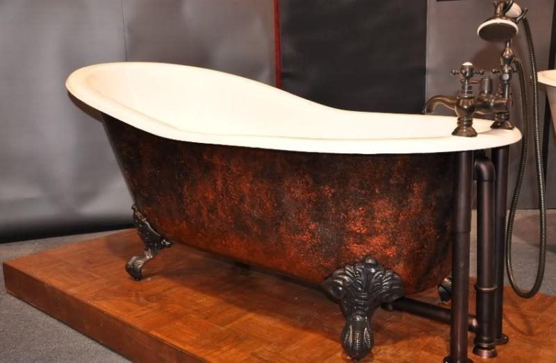 Copper Skirt Clawfoot Tub Love It Clawfoot Tub