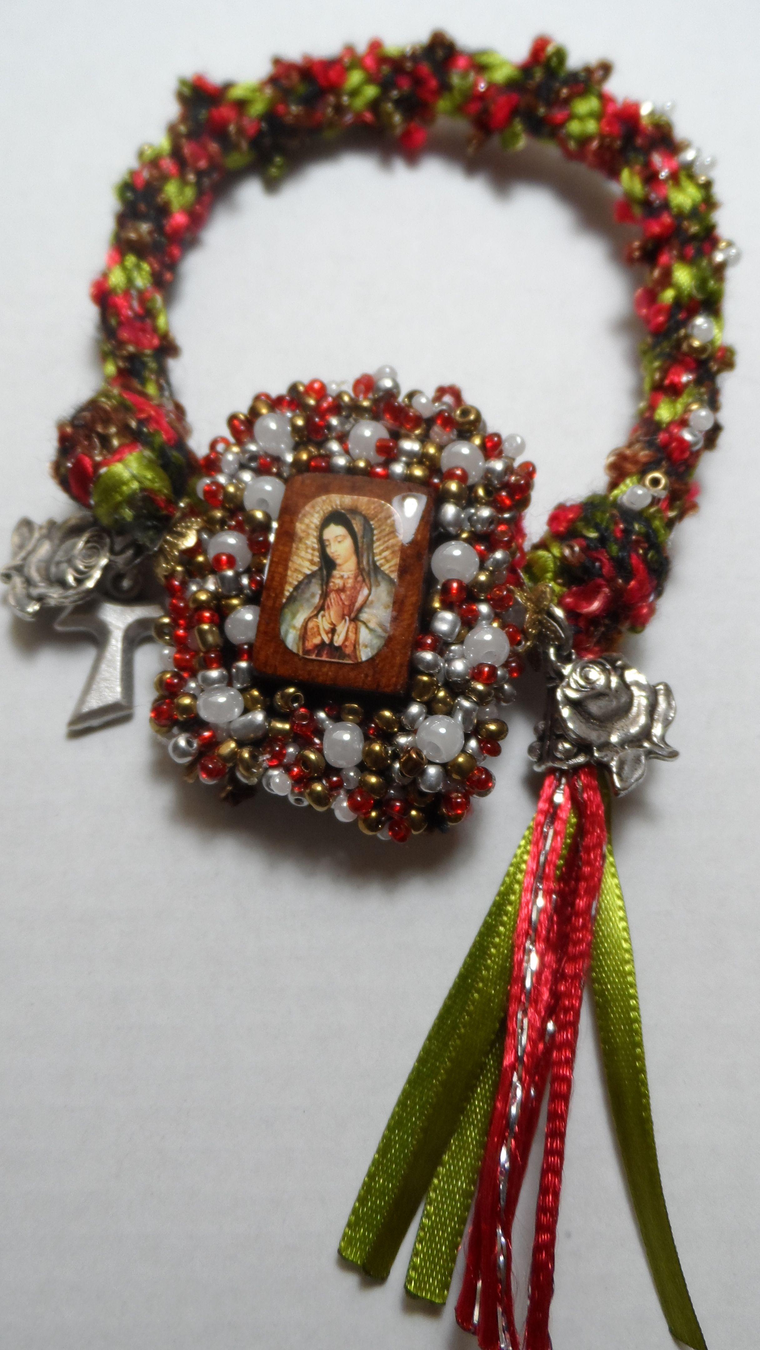 d0db4909d19a Escapulario-Pulsera Virgen de Guadalupe