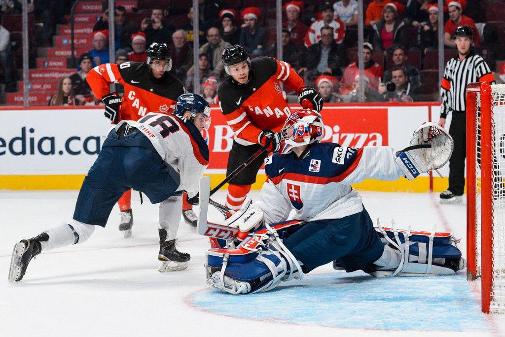 Denis Godla Photos Photos Slovakia V Canada 2015 Iihf World Junior Championship World Junior Hockey Team Canada Hockey Team Canada