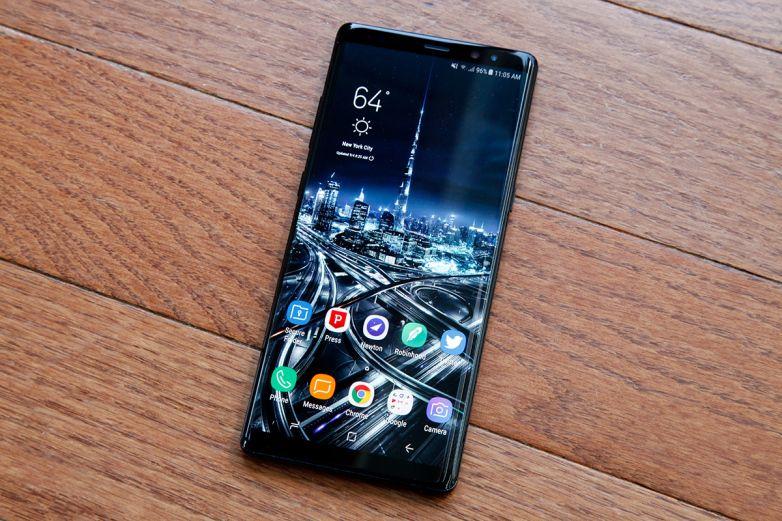 سامسونج تعترف بـ مشاكل بطارية نوت 8 وتقول أن عدد الأجهزة المصابة محدود Samsung Galaxy Galaxy Note 8 Samsung