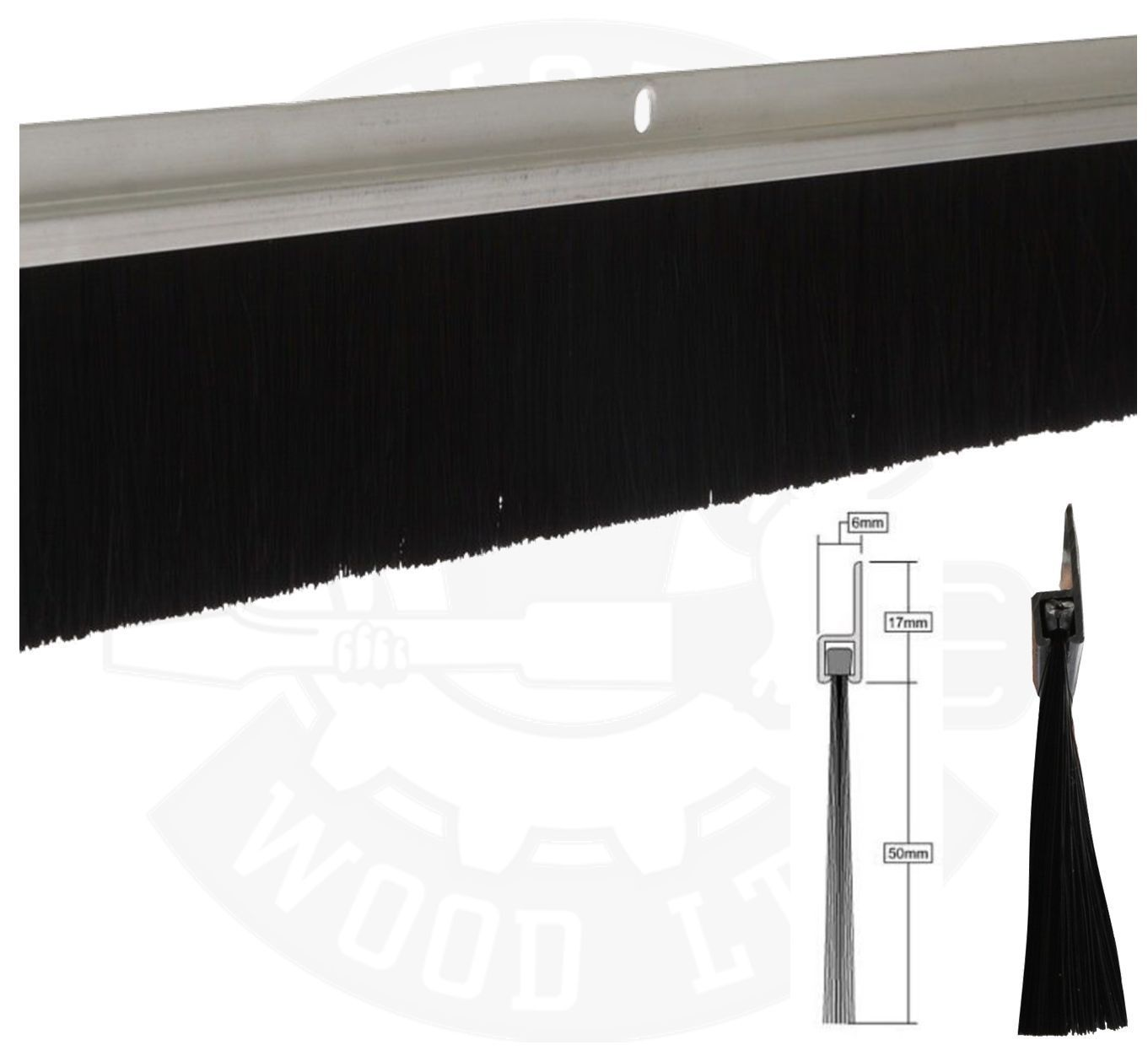 Garage Door Draft Excluder Brush Httpvoteno123 Pinterest