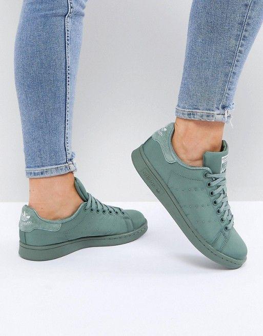 Flb Mi Formateur D'hiver En Vert Sauge - Vert Adidas Originals DUfNliQ
