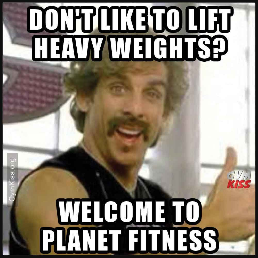 Dont like to lift heavy weights to fitness