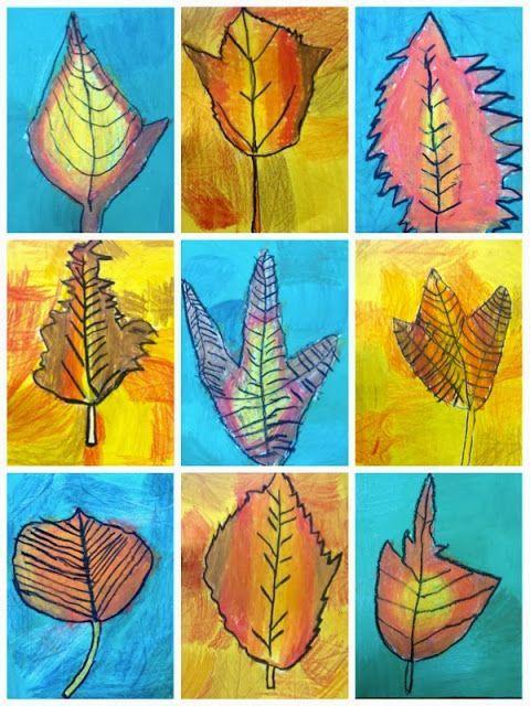 1st Grade First Grade Fall Art Projects