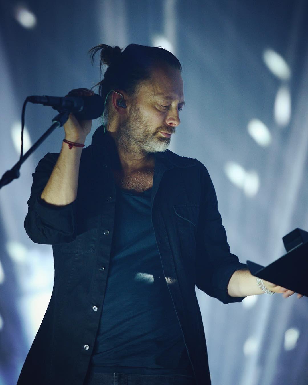 Thom Yorke Radiohead Philips Arena On April 1 2017 In Atlanta