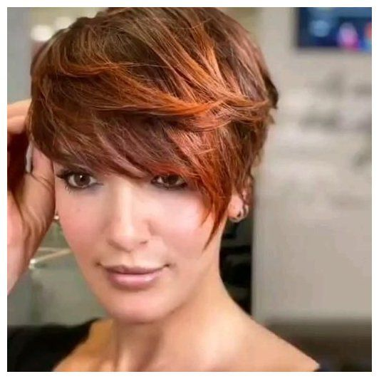 bangstyle hair short 2019 over 50