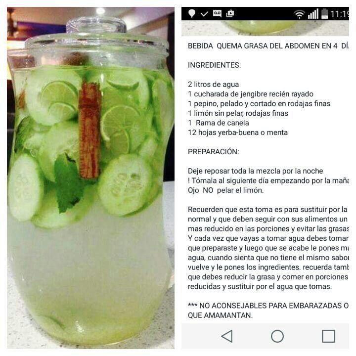 4 litros de agua al dia para adelgazar