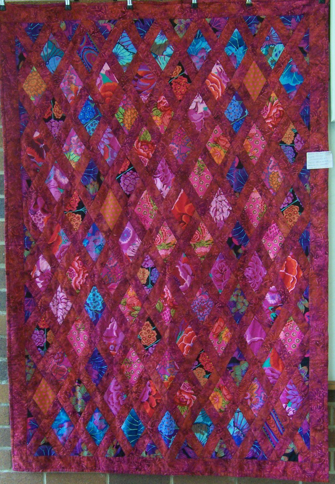 Quilt by Lyn Lloyd, Toowoomba Quilters Club (Australia). Kaffe ... : kaffe fassett quilt kits australia - Adamdwight.com