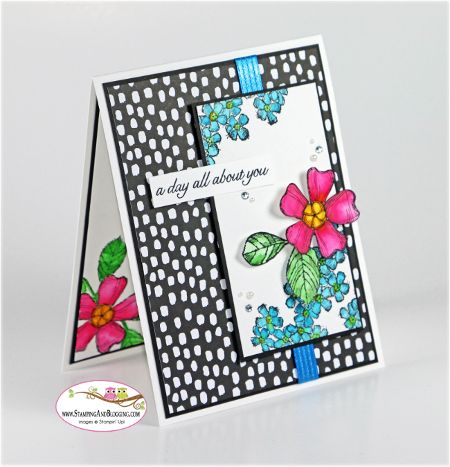 Birthday blossoms for sketch stamp by sandimac cards and paper birthday blossoms for sketch stamp by sandimac cards and paper crafts at splitcoaststampers bookmarktalkfo Choice Image