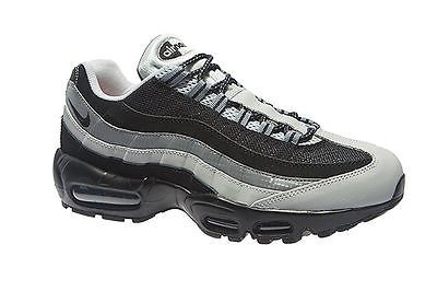 new product 4a1c7 85abb Nike Air Max 95 Essential Mens 749766-005 Black Grey Running Shoes Size 8.5