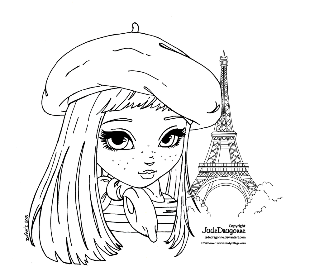 france coloring pages for girls | France by JadeDragonne on deviantART | COLOREAR ...