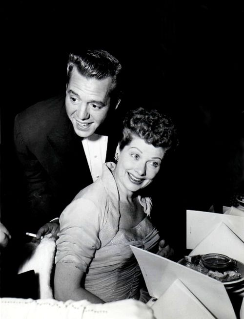 Lucille Ball And Desi Arnaz At Legendary Cabaret Tropicana 1956 I Love Lucy