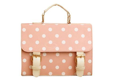 Pink Polka Dot Purse from Margarita Bloom