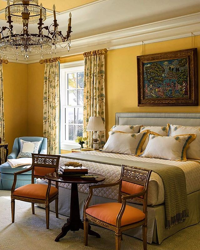 So Elegant Love A Sitting Area In A Master Bedroom By: Bright And Elegant Master Bedroom! There Is Even A