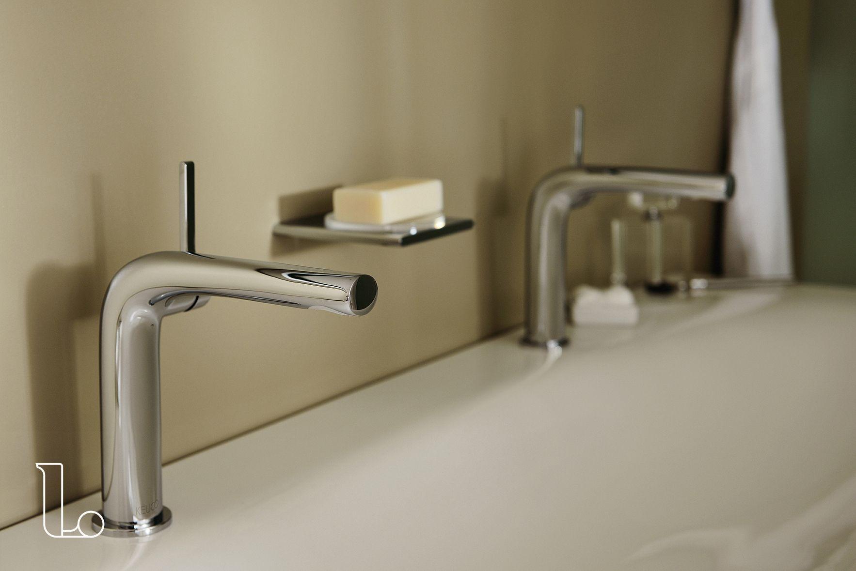 Inloopdouche Met Badkamerkranen : Deze badkamer kranen vallen op dankzij hun gestroomlijnde vormgeving