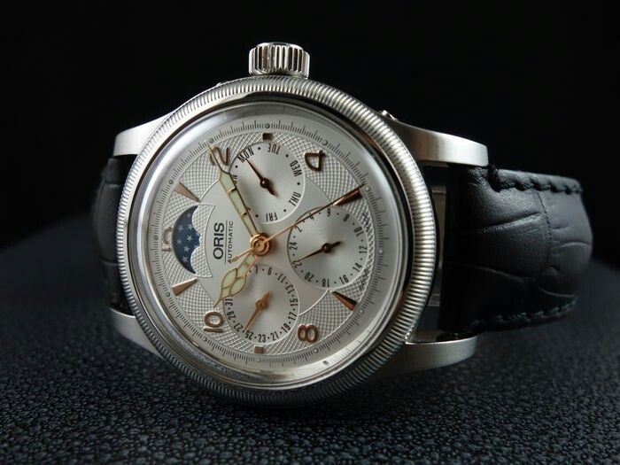 a7fd0524e2c6 Oris - Big Crown Complication - Moonphase - 2013 - Catawiki Moonphase Watch
