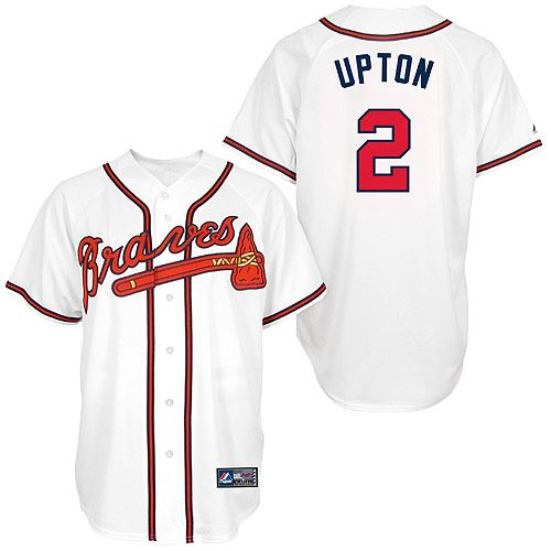 dd589dd90 Atlanta Braves Youth Replica BJ Upton Player Jersey by Majestic Athletic -  MLB.com Shop