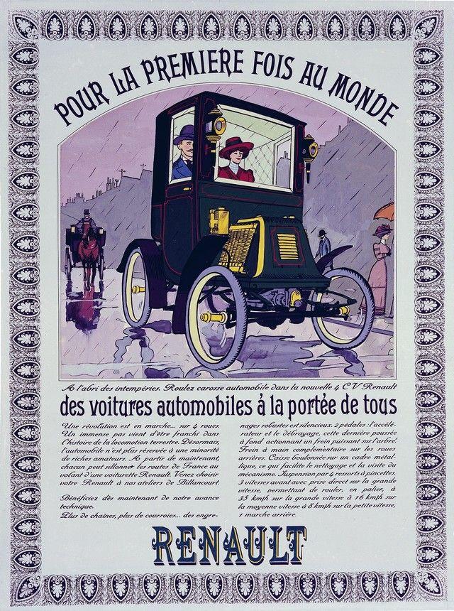 Renault Voiturette D Interior