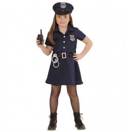 Disfraz De Policia Para Nina En 2019 Policias Y Presos Disfraz