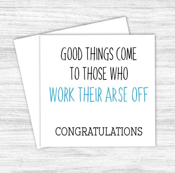 Funny Graduation Card Congratulations Exam Success A Level