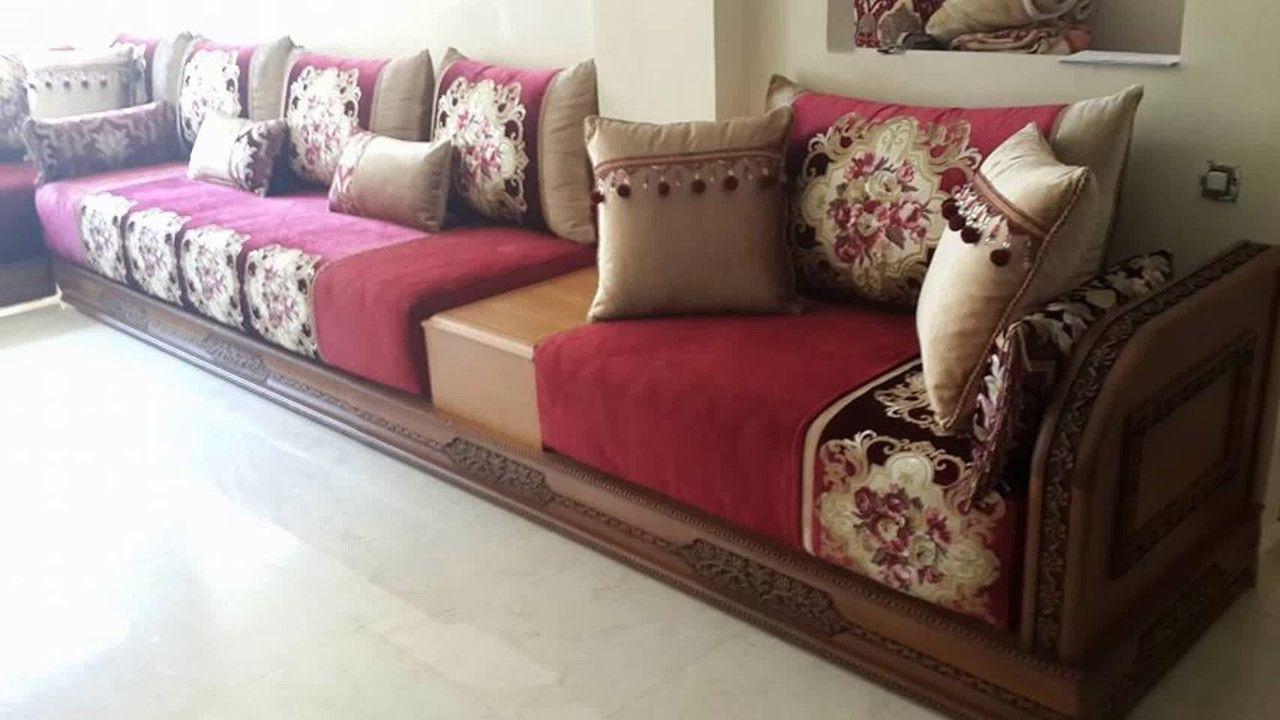 Salon Marocain Maroc Prix أشكال جديدة من السدادر الخشبية sdader banquettes en bois