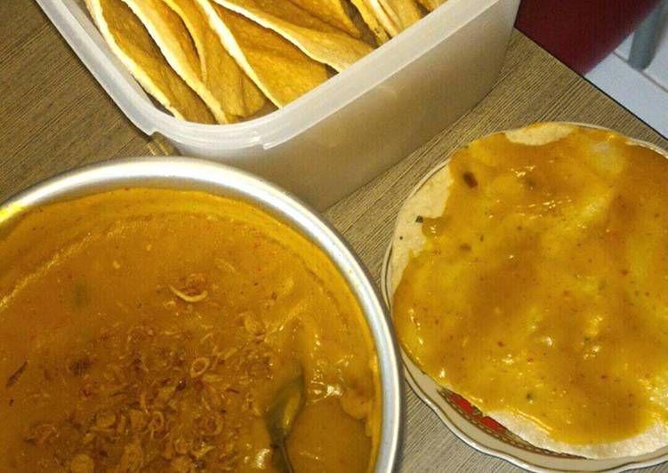 Resep Kerupuk Mie Kuning Banjur Sambal Kuah Resep Masakan Indonesia Resep Masakan Masakan Indonesia