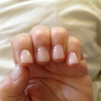 Fabulous Short Acrylic Nails Shortacrylicnails Natural Acrylic Nails Natural Looking Acrylic Nails Gel Overlay Nails