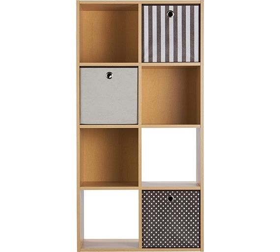 Buy HOME Squares 8 Cube Storage Unit - Beech Effect at Argos.co.uk  sc 1 st  Pinterest & Buy HOME Squares 8 Cube Storage Unit - Beech Effect at Argos.co.uk ...