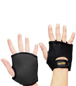 YogaPaws Elite Yoga Hand Gloves - Classic Black - Women's XS