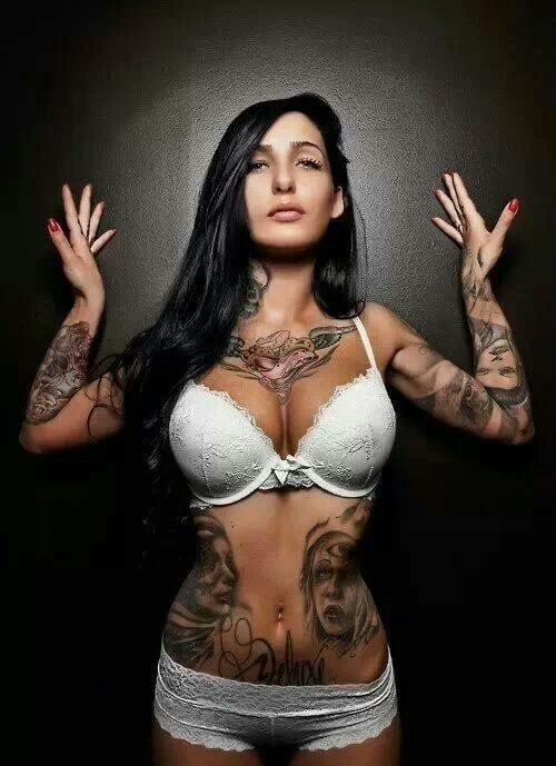 Have quickly busty tattooed sue