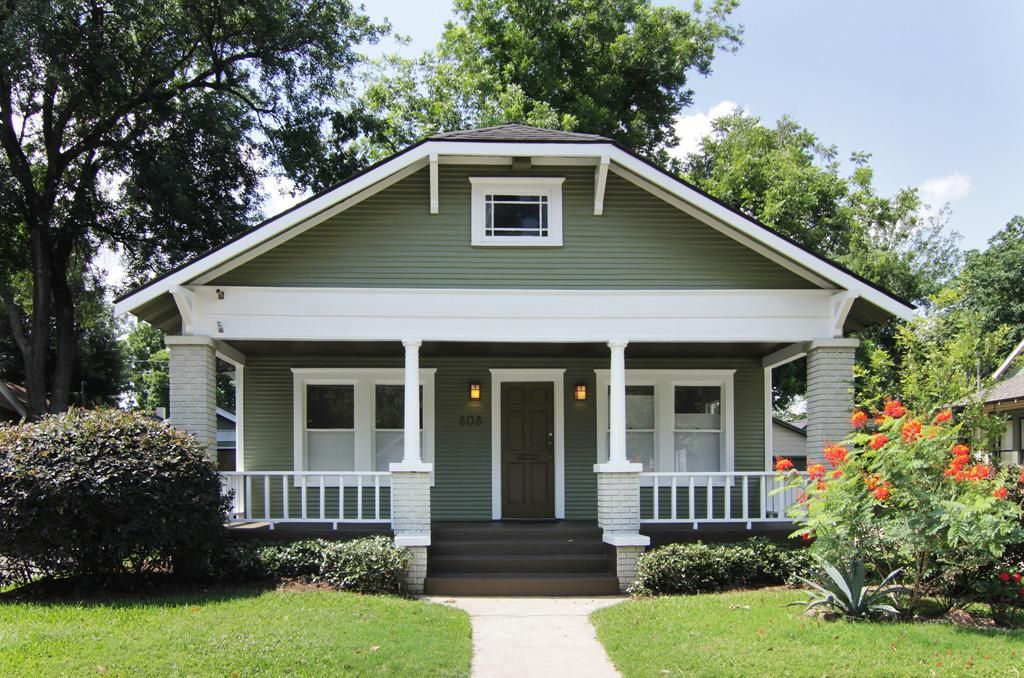 Charming Expanded Bungalow With Almost Sq Ft In East Norhill - Craftsman home rehabilitation in houston