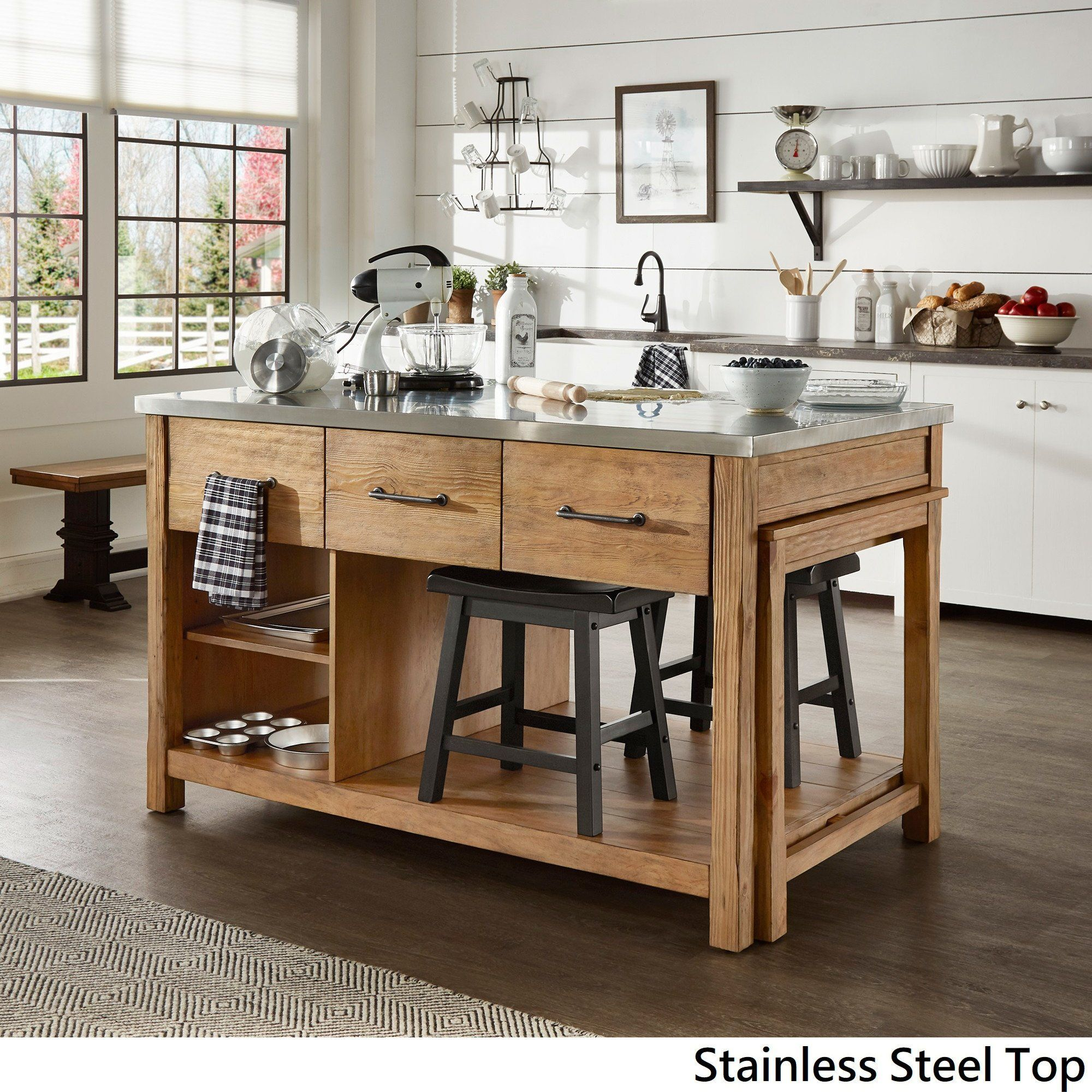 Overstock Com Online Shopping Bedding Furniture Electronics Jewelry Clothing More Kitchen Island Decor Kitchen Design Kitchen Furniture Reclaimed kitchen islands for sale