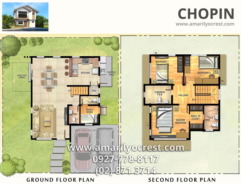 House model floor plan