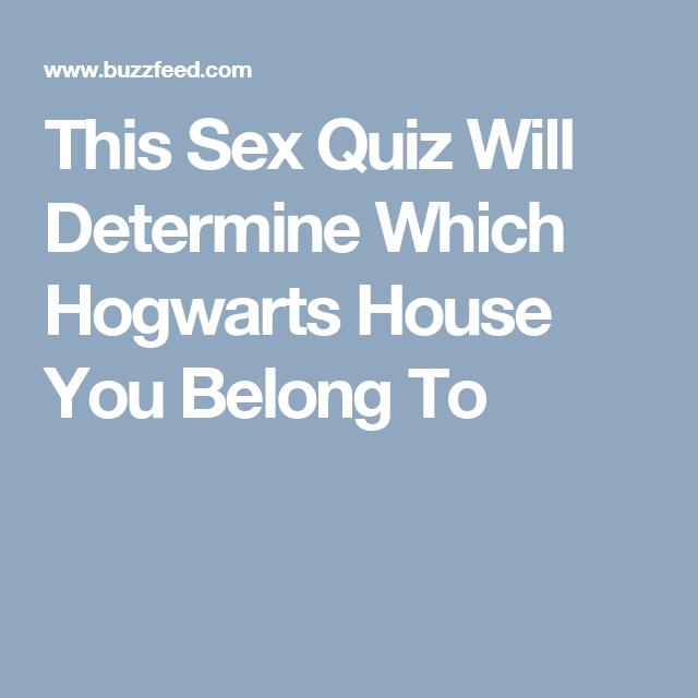 Sex quizs