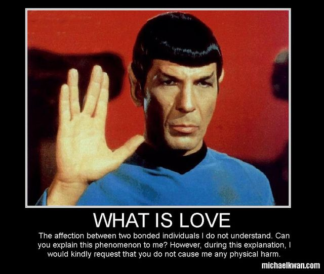 What Is Love? Star trek tv, Star trek spock, Star trek