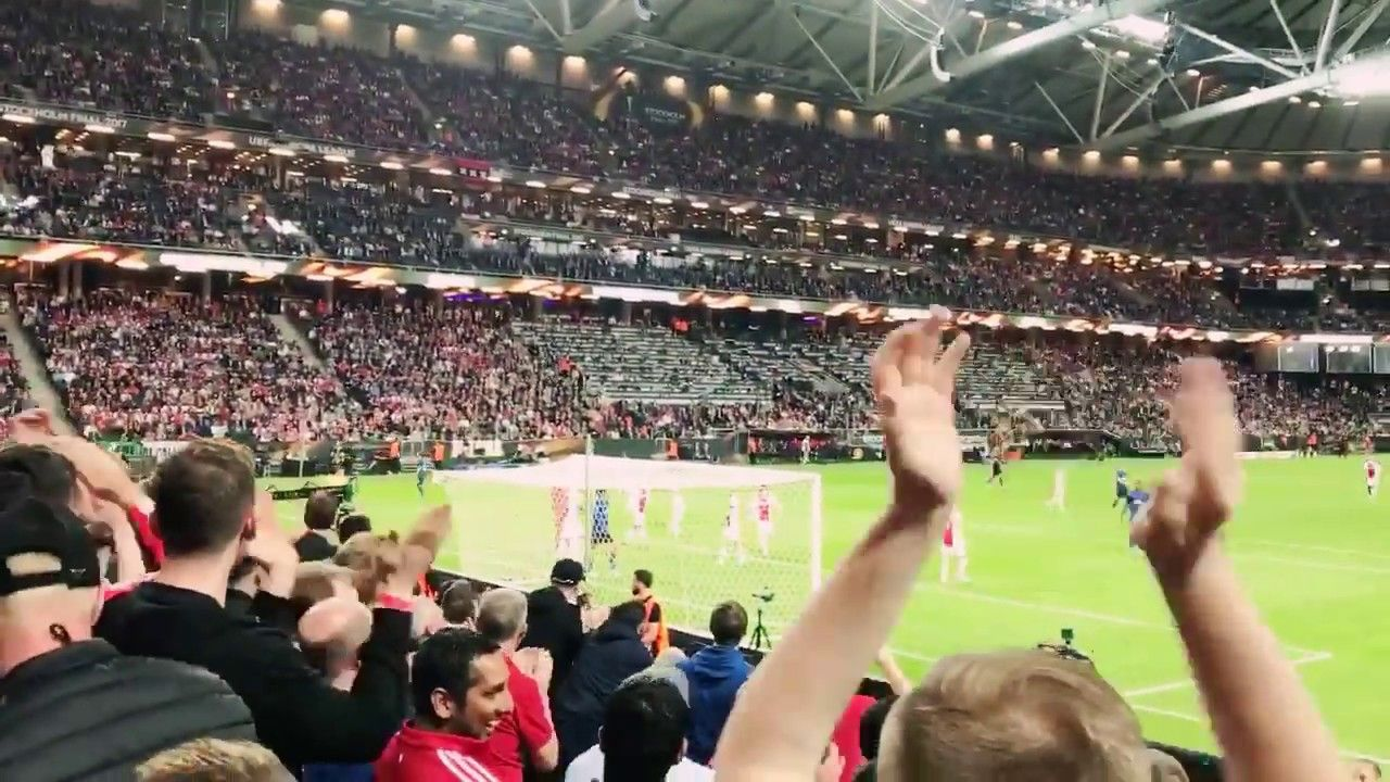 Fans Crazy Celebration For Mkhitaryan S Europa League Final Goal