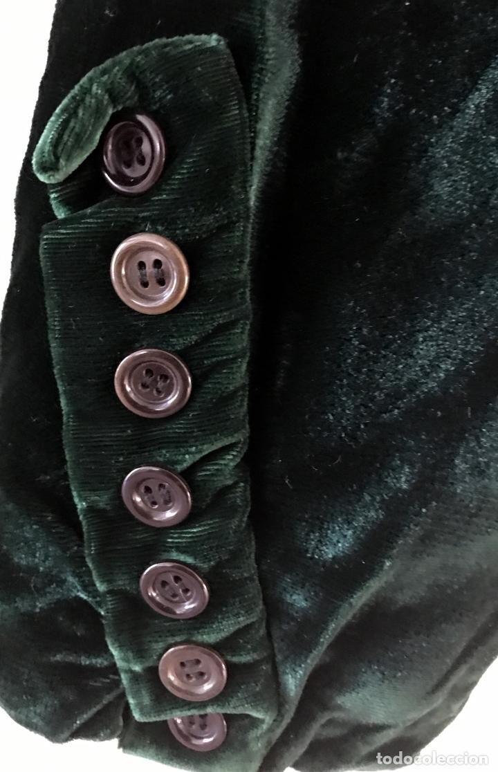 Pp Corta Antigüedades Terciopelo Verde De S Xx Chaquetilla 8wqRqpxX