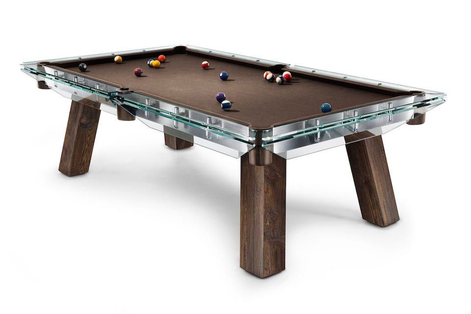 Filotto Wood LIMITED EDITION In The Occasion Of Salone Del Mobile - Mobile pool table