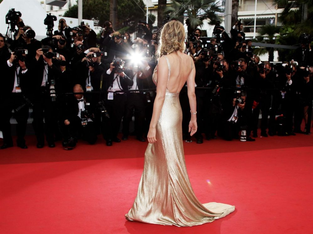 Festival di Cannes 2011 - Diane Kruger in Calvin Klein Collection