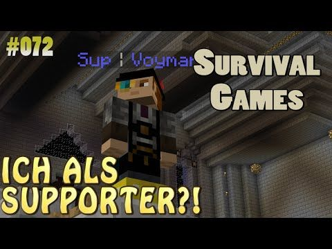 ICH ALS SUPPORTER SurvivalGames GERMAN HD - Minecraft server erstellen kostenlos windows 10