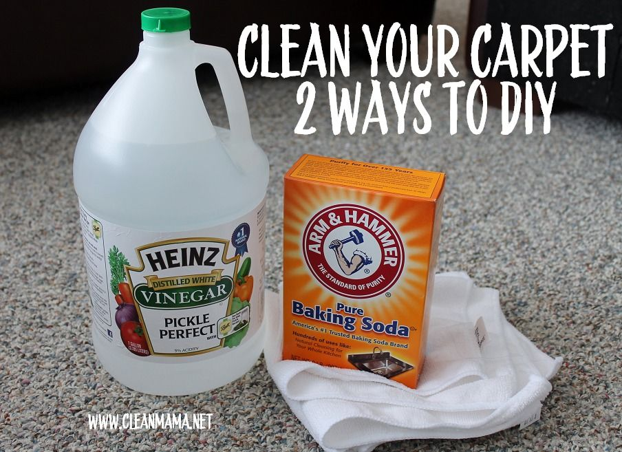 Spring Cleaning : Carpet Cleaning (2 Ways To DIY