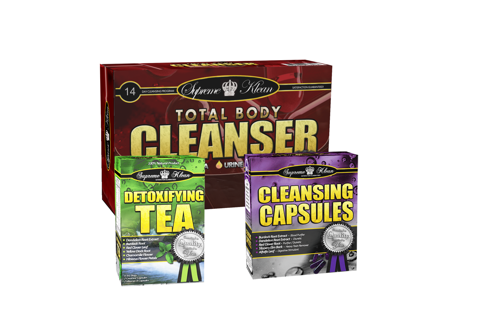 14 Day Total Body Cleanser for THC