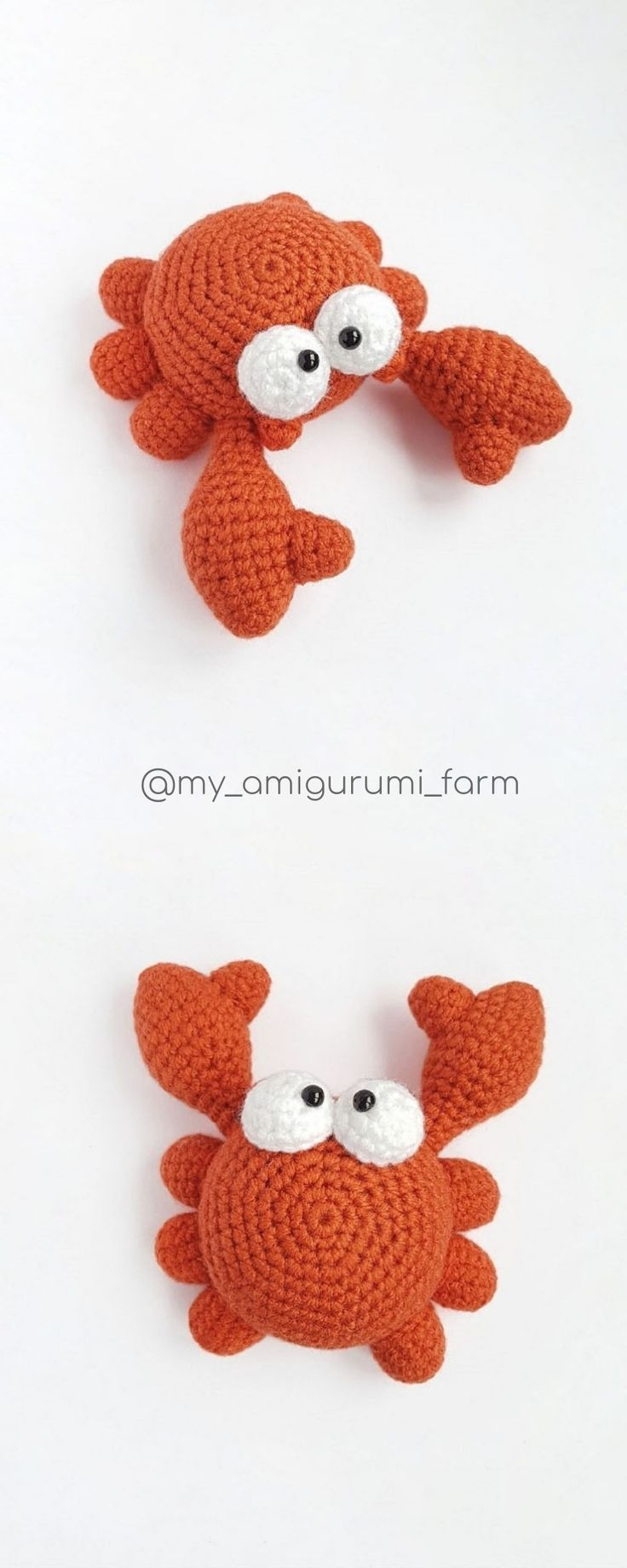Crochet animals patterns by MyAmigurumiFarm #crochetanimalamigurumi