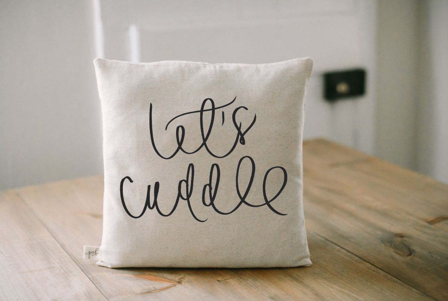 Pillow cover letus cuddle x present housewarming gift