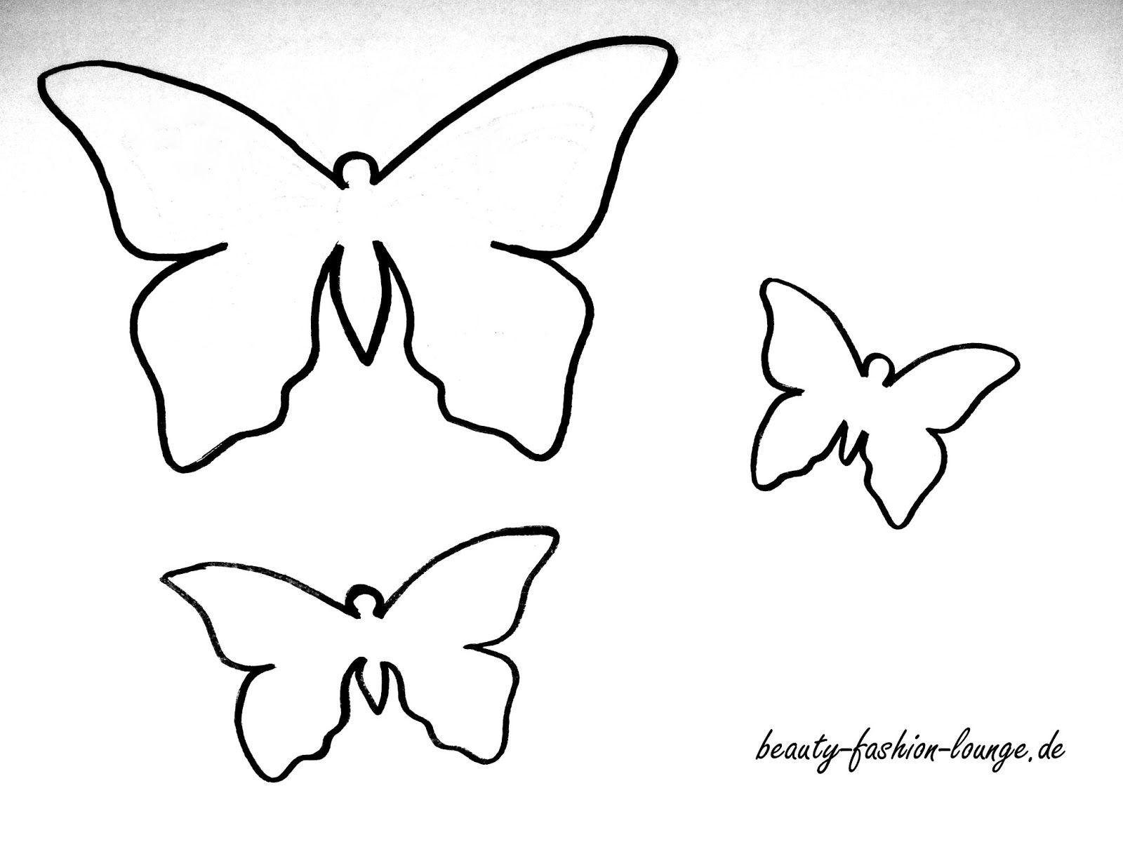 Schmetterling vorlage Malvorlagen Malvorlage schmetterling